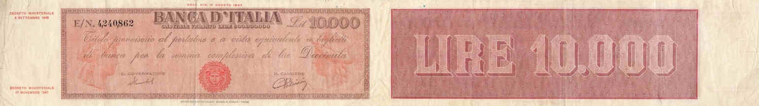 ITALY 500 LIRE 1966 P 93 XF+